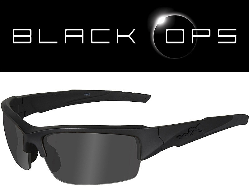 Wiley X Valor - Smoke Grey Lenses   Matt Black Frame - PULL THE TRIGGER 3dde273763