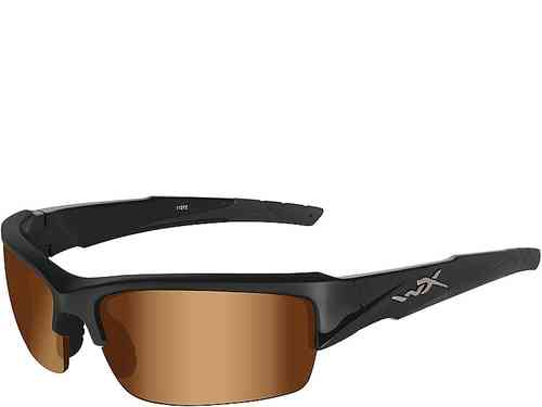 Wiley X Valor - Bronze Flash Lenses / Gloss Black Frame