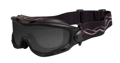 Wiley X Spear Goggles - Smoke Grey, Clear, Light Rust Lenses / Matt Black Frame