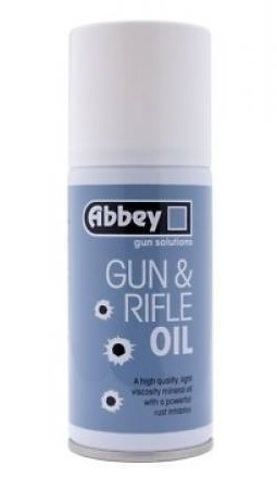 Abbey Gun and Rifle Oil Aerosol