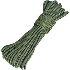 Mil-Com Geen Utility Rope - 3mm x 15m