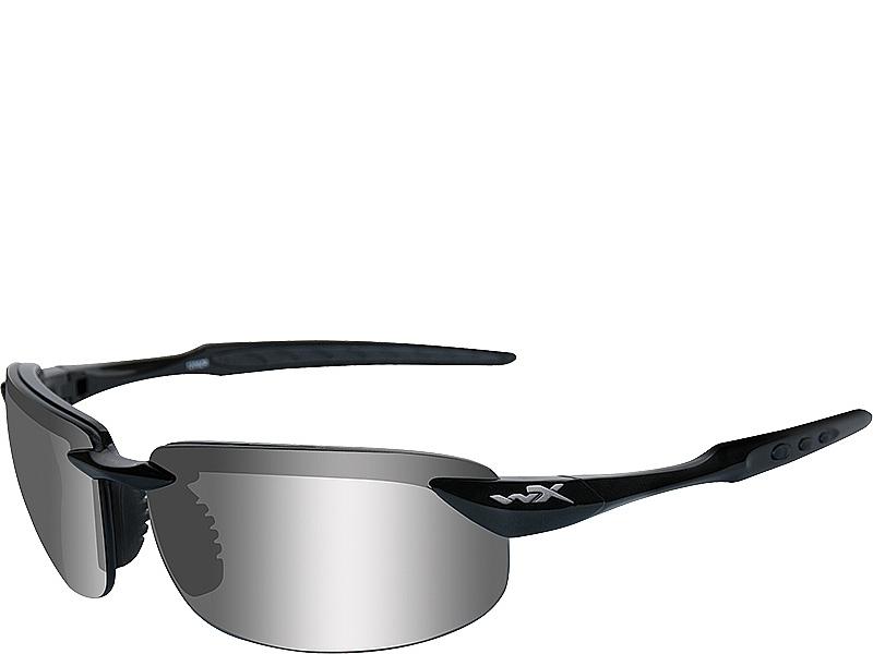 ee3c25e2ac5 Wiley X Tobi - Polarized Silver Flash Lenses   Gloss Black Frame ...