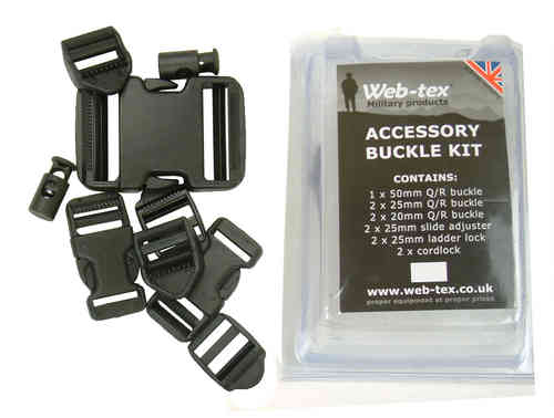 Web-Tex Accessory Buckle Kit