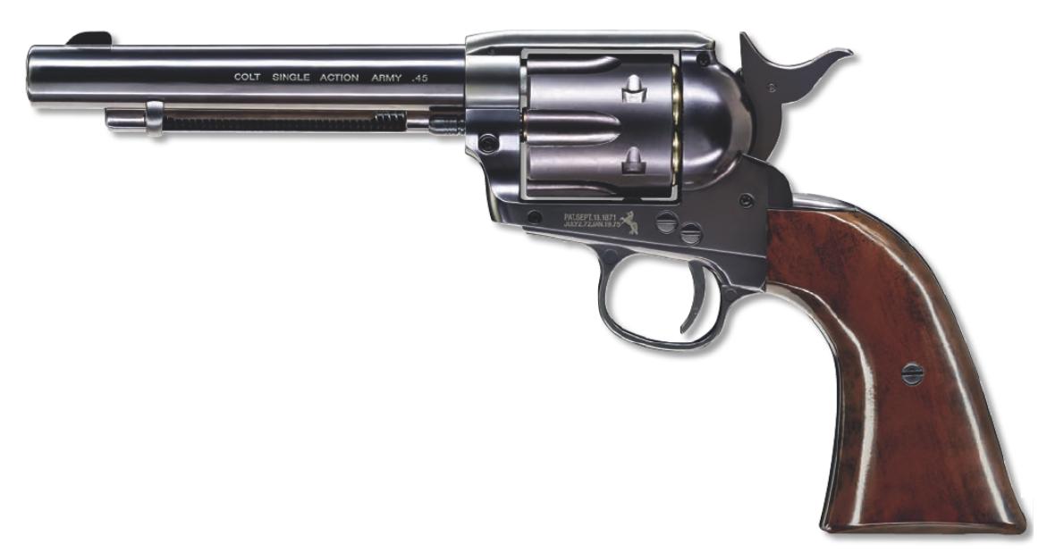 Umarex Saa 45 Colt Peacemaker 4 5mm Blued Finish