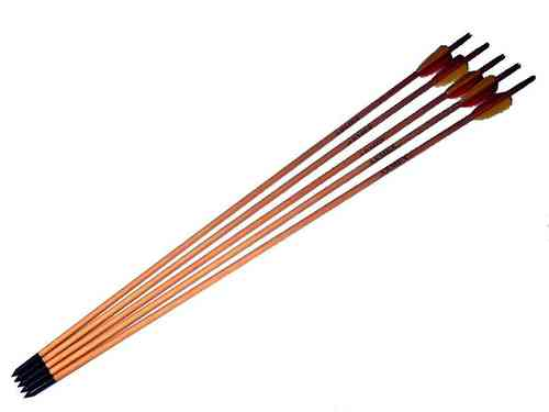 "Armex 30"" Wood Arrows - Pack of 5"