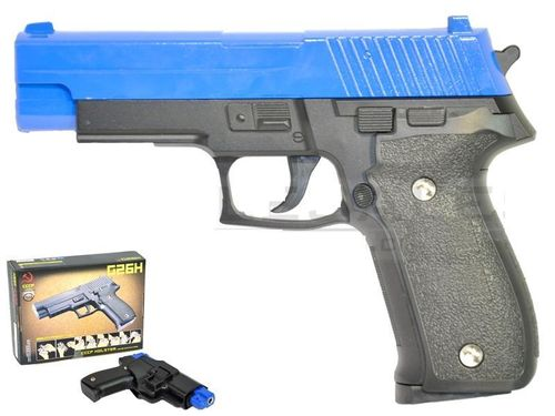 CCCP Sig sauer P226 G26H with Holster - Spring Powered