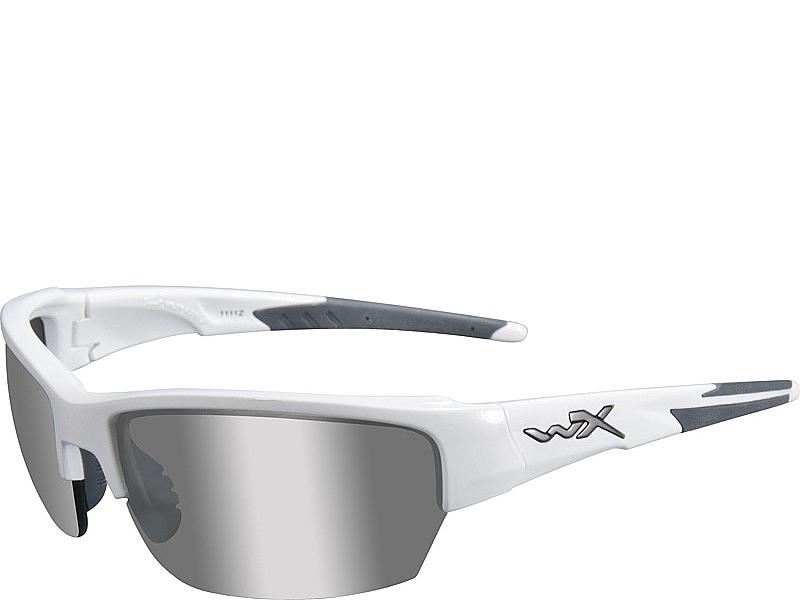 c2bae52b257 Wiley X Saint - Smoke Grey Lenses   Gloss White Frame - PULL THE TRIGGER