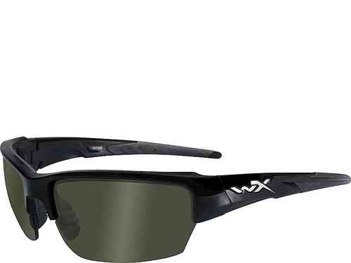 Wiley X Saint - Polarized Smoke Green Lenses / Gloss Black Frame