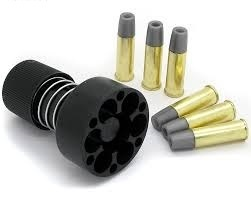 Webley Mk VI Service Revolver Replacement Shells with Speedloader - 4.5mm