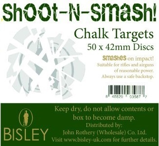 Bisley Shoot-N-Smash Chalk Targets