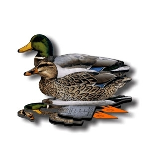NRA Fold Up Decoy (FUD) - Mallard - 6 Pack