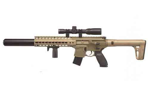 Sig Sauer MCX - Flat Dark Earth with 1-4x24 Scope
