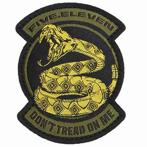 5.11 Tactical Don't Tread On Me Patch - Goldfinger