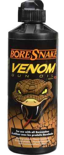 Hoppe's BoreSnake Venom Gun Oil 4oz Bottle