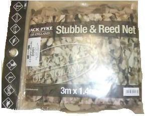 Jack Pyke Lightweight Stubble and Reed Camo Net - 3m x 1.4m