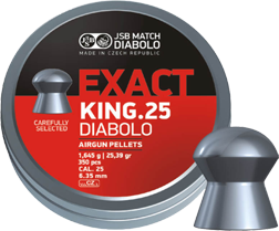 JSB Exact King .25 (Tin of 350)