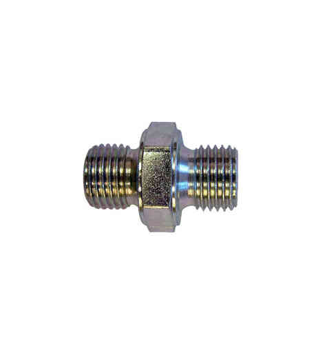 "1/8"" BSP - 1/8"" BSP Male to Male Thread Adaptor"