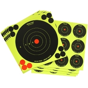 "Jack Pyke Spot Shot Targets Mixed Pack 6 x 6"", 4 x 2"""