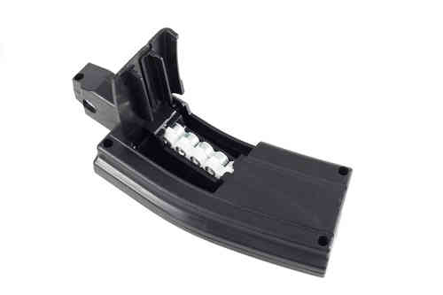 Sig Sauer MPX / MCX Spare Magazine .177 Cal, 3 x 30 Round Belts plus 1 x Magazine Housing
