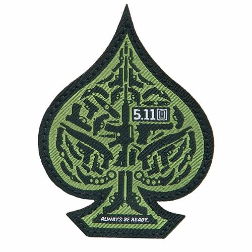 5.11 Tactical Spade Morale Patch - Olive