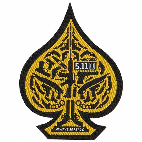5.11 Tactical Spade Morale Patch - Scope Orange