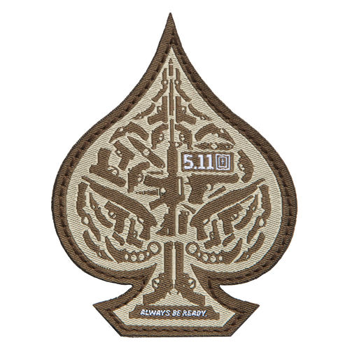5.11 Tactical Spade Morale Patch - Desert Sand