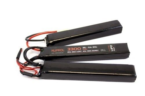 Nuprol Power 3300mah 11.1v 20c Nunchuk Type Lipo