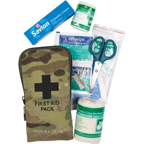 Web-Tex Small First Aid Kit - Multicam