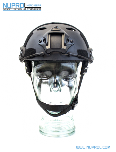 Nuprol NP Fast Railed Helmet - Black