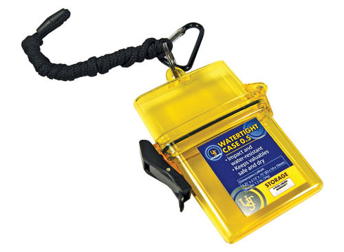 UST Marine Watertight Case - Size 0.5 - Yellow