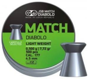 JSB Green Match Diabolo Light Weight .177