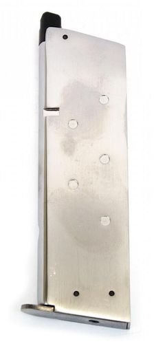 WE Nighthawk 1911 Chrome Gas Magazine
