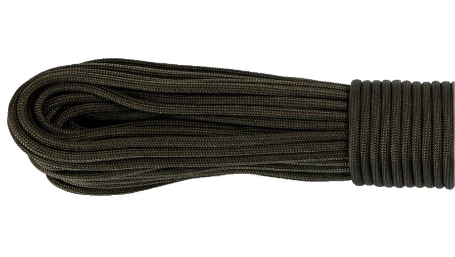 gorilla cord type iii paracord army green 010 10m pull the