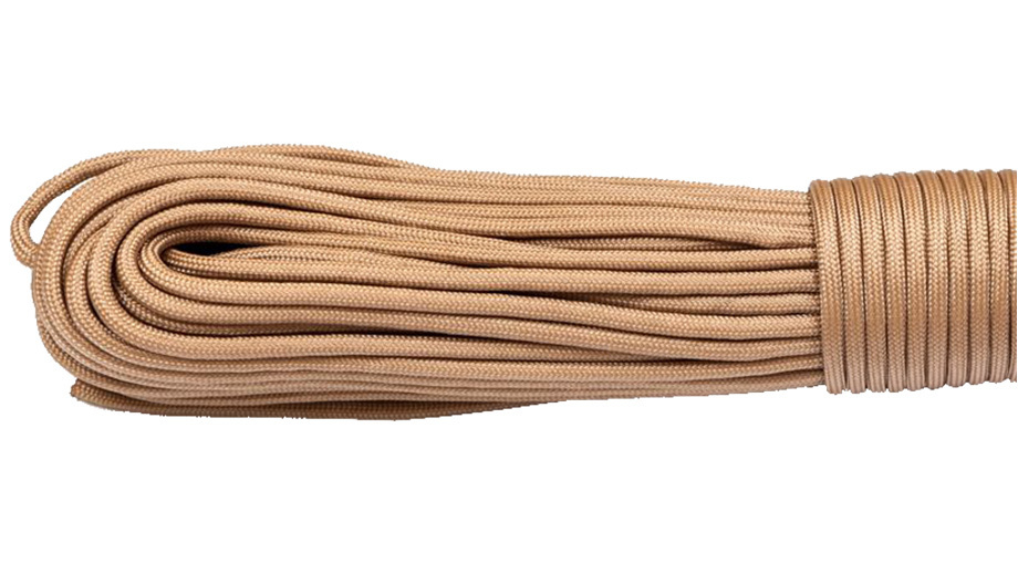 gorilla cord type iii paracord tan 068 10m pull the trigger