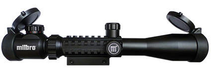 Milbro Military Style 3-9x40 EG Airsoft Scope