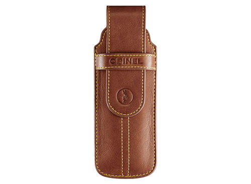 Opinel Chic Brown Leather Pouch 002011