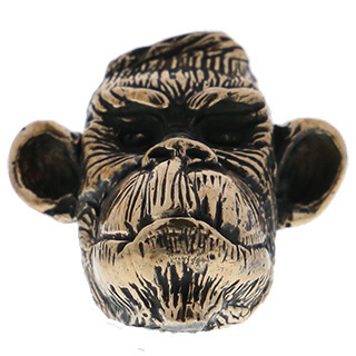 Lion ARMory Congo Bead in Brass