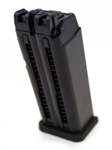 WE EU Glock Dual Barrel Magazine - Black
