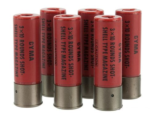 Cyma Shotgun Shell Magazines (Pack of 6)