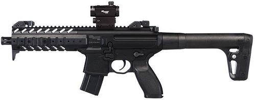 Sig Sauer MPX - Black with Sig 20R Red Dot Sight