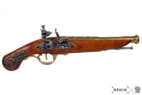 Denix Flintlock pistol, England 18th. Century 1196/L