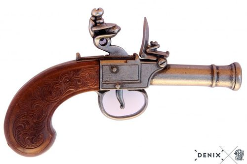 Denix Flintlock pistol, England 18th. Century 237/G