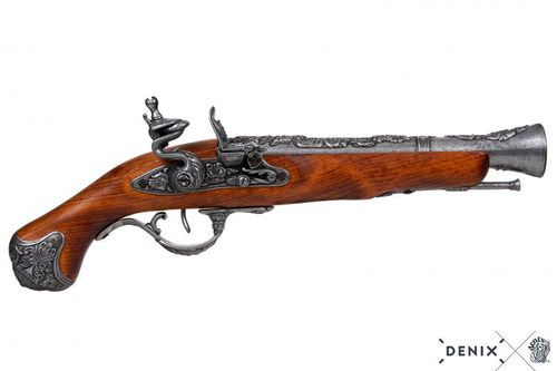 Denix Flintlock pistol, England 18th. Century 1219