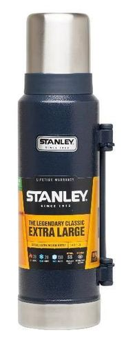Stanley Classic Vacuum Insulated Bottle - Hammertone Navy 1.3 Litre