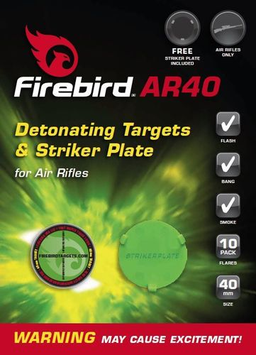 Firebird AR40 (Airflash 40 Extreme) Air Rifle Exploding Targets