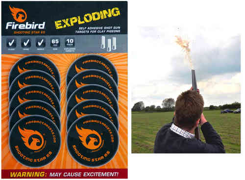 Firebird Shooting Star for Clays Targets