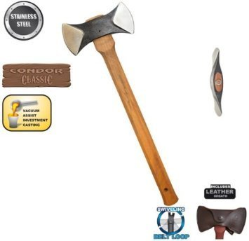 Condor Thunder Bay Double Bit Axe