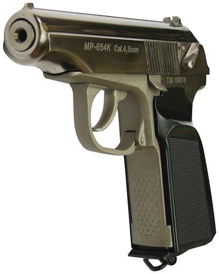 Baikal Makarov - MP-654K - Nickel - Pull The Trigger
