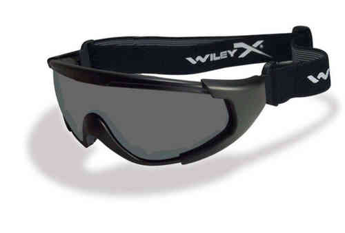 Wiley X CQC Goggles - Smoke Grey, Clear Lenses