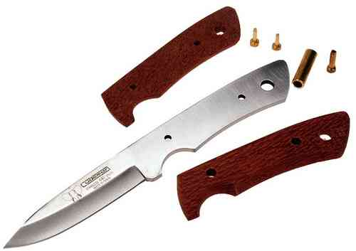 Cudeman Custom Knife Kit - Pearl Wood Scales